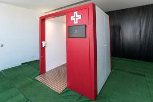 Túnel de Desinfeção e Descontaminação Alprometal VI