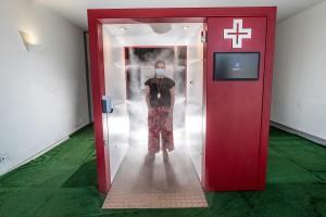 Túnel de Desinfeção e Descontaminação Alprometal V